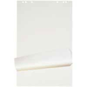 Flipchart-Block, 64x95 cm, 25 Blatt, blanko/kariert, 80 g, gerollt, Pk. à 4 Stk.