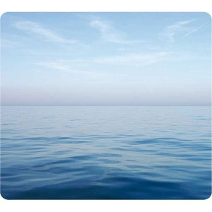 Mausmatte Fellowes, aus 95% recycelten Gummireifen, Motiv Ozean