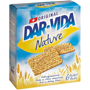 Dar-Vida Nature 250 g, Packung à 6 Pocket-Packs