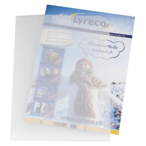 Organisationsmappe Elco Ordo transparent 29490 A4, weiss, Packung à 100 Stück