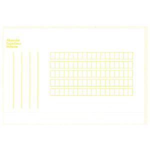 Paketadressen, 12,6x7,8 cm, selbstklebend, weiss/gelb, Beutel à 500 Stück