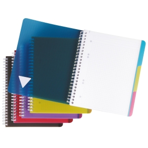Collegeblock Clairefontaine Evolutiv Book A5+, 5 mm kariert, 90 Blatt