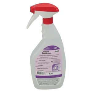 Schnell-Desinfektionsspray auf Alkoholbasis Suma Qiucksan D4.3, Flasche à 750 ml