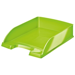 Briefkorb Leitz WOW, A4, grün metallic