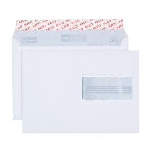 Couvert Elco Proclima 38896, C5, Fenster rechts, 100 gm2, weiss, Pk. à 500 Stk.