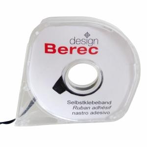 Aufteilungsband Berec, 3 mmx8 m, schwarz