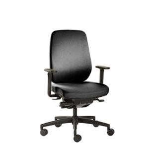 Bürostuhl Prosedia Deltaline 5156, hohe Rückenlehne, schwarz
