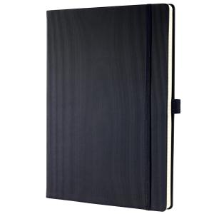Notizbuch Sigel Conceptum CO111 A4, Hardcover, 5 mm kariert, 194 Blatt, schwarz