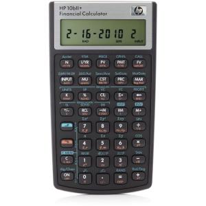 Taschenrechner HP 10BII+, kaufmännisch, Version deutsch