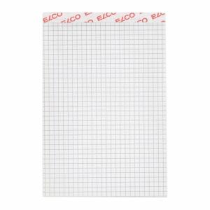 Notizblock Elco 73423.17 A6, 70 g/m2, 4 mm kariert, 100 Blatt