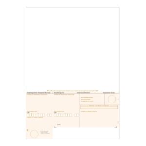Einzahlungsschein Simplex 38422 A4, orange, geboxt, ESR, Pk.à 1000 Stk.