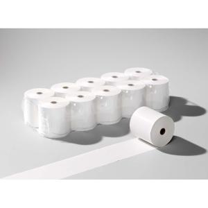 Additionspapierrolle 58x30 mm, 6 m lang, 60 g/m2, weiss