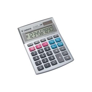 Tischrechner Canon LS-103TC, 10-stellige Anzeige, silber
