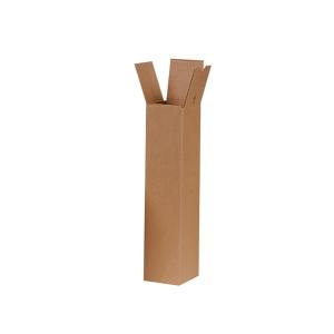 Vierkanthülle Brieger 10/98, 98,5x10 cm, braun