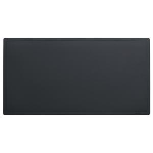 Schreibunterlage Hansa, 65x34 cm, schwarz