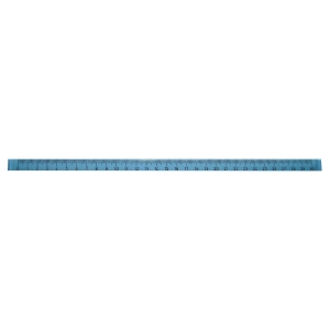 Massstab Arda, 30 cm, blau/transparent