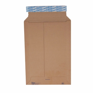 Versandtasche Brieger Brimail 52145, B4 250x350 mm, 420 gm2, braun