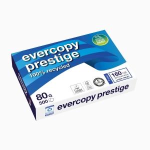 Kopierpapier Evercopy Prestige A4, 80 g/m2, FSC, Packung à 500 Blatt