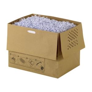 Rexel Aktenvernichterbeutel, 32 l , aus Papier, Packung à 20 Stück