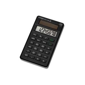 Taschenrechner Citizen ECC-110, 8-stellige Anzeige, schwarz