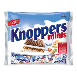 Knoppers Minis, Packung à 200g