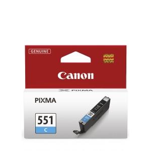 Tintenpatrone Canon CLI-551C, 332 Seiten, cyan