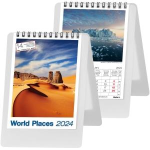 Tischplaner Biella Desktop Imago Around the World 887160, 1 Monat pro Seite