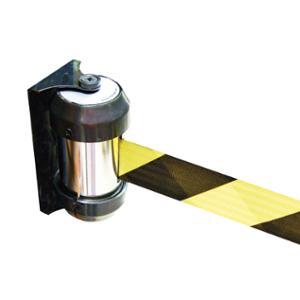 Wandgurt Viso, 2m Gurt, PP/Stahl, 1 kg, schwarz/gelb