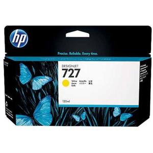 Tintenpatrone HP No.727 B3P21A, 130ml, yellow