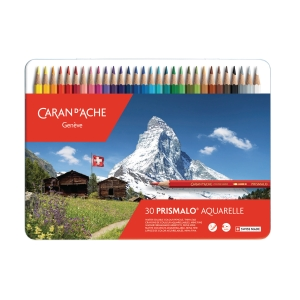 Farbstift Caran d Ache Prismalo I 999.330, 30er-Set in Metallschachtel