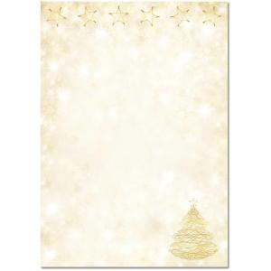 Designpapier Sigel Graceful Christmas A4, 90 g/m2, Packung à 100 Stück