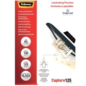 Laminierfolie Fellowes A5, 2x125 my, glanz, Packung à 100 Stück