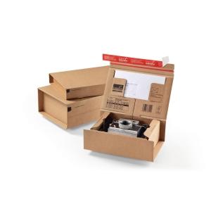 Versandschachtel Colompac Post, 330x290x120mm, braun CP 067.06, Packung à 10 Stk