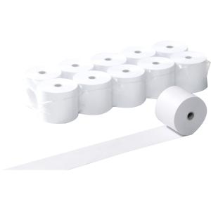 Thermopapierrollen 80x80 mm, 80 m lang, 55g/m2, weiss, Packung à 30 Rollen