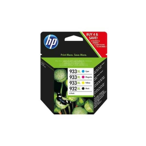 CARTUCCIA D'INCHIOSTRO HP C2P42AE PER OFFICEJET 932XL/933XL, MULTIPACK