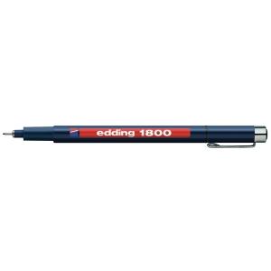 Feinschreiber Edding 1800 Profipen 0.1, Strichbreite 0,25 mm, schwarz