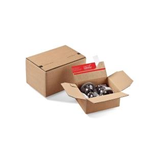 Versandschachtel Colompac, 159x129x70mm, braun, CP 151.010, Packung à 10 Stück