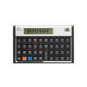 Taschenrechner HP 12C Plantinum, Finanzrechner, Version deutsch/italienisch