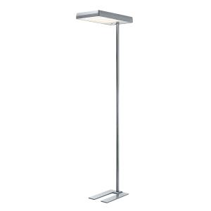 LED-Stehleuchte Hansa Maxlight, metallgrau