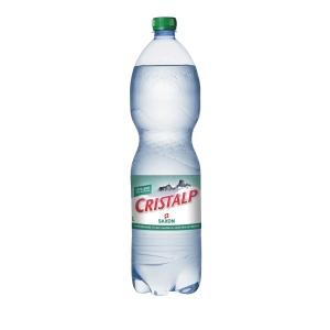 Cristalp Mineralwasser mit Kohlensäure 1,5 l, Packung à 6 Flaschen