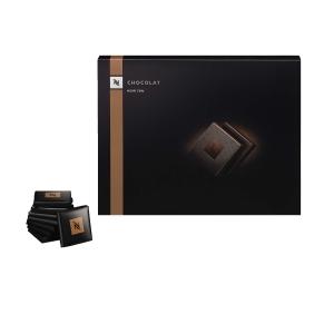 NESPRESSO Petits Carrés schwarze Schokolade, Packung à 200 g