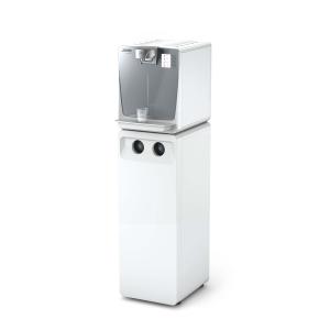 Kärcher WPD 200 Adv. Stand-Alone Wasserdispenser mit Kohlensäure und Heissw. wei