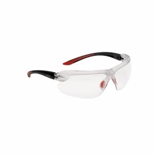 Schutzbrille Bollé IRI-S IRIPSI, Filtertyp 2C, transp/swz, Scheibe farblos
