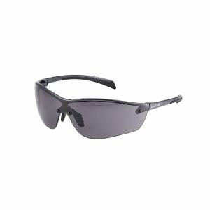 Schutzbrille Bollé SILIUM+ SILPPSI, Filtertyp 5, grau/schwarz, Scheibe grau