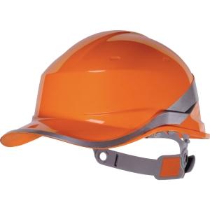 Schutzhelm Deltaplus Diamond V, aus ABS, Einstellbereich 53-63 cm, orange