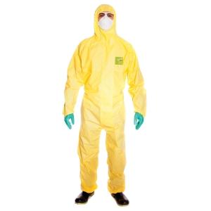 Schutzanzug Microgard 2300 Plus Modell 132, Grösse L, gelb