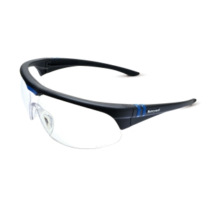 Schutzbrille Honeywell Milennia, Filtertyp 2, schwarz, Scheibe farblos