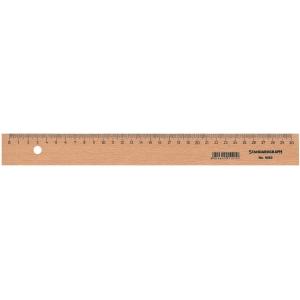 Massstab Standardgraph 9063, mit Stahleinlage, Buchenholz, 30 cm