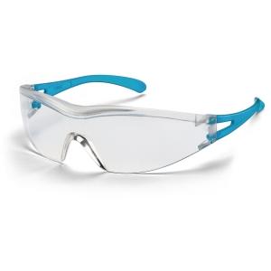 Schutzbrille Uvex 9170 x-one, Filtertyp 2C, blau/transparent, Scheibe farblos