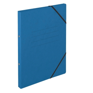 Ringbuch Biella Top Color 157402, A4, 2-Ring, mit Gummiband, 2,5 cm Rücken, blau